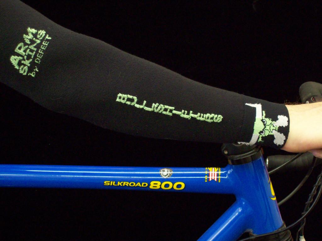 Bullshifter Black Knit Arm Warmers